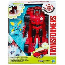 Transformers Robots In Disguise sovratensione Sideswipe & Mini-con windswipe