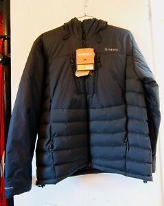 Simms West Fork Jacket, Large, Raven Color