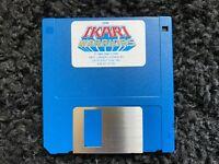 """VTG 1986 SNK Corp Ikari Warriors Game 3.5"""" Floppy Disk for IBM"""