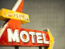 RETRO MOTEL SIGN - FINE ART PRINT POSTER 13x19 - SQ003
