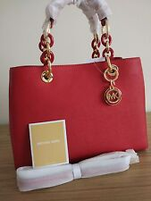 Michael Kors Cynthia Medium Leather Satchel    delivery before Christmas UK only