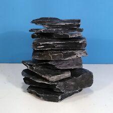 2KG New NATURAL chunky SLATE Rock Gravel Pieces AQUARIUM or VIVARIUM Decoration