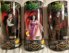 The Munsters 3 Figure Set Limited Edition New
