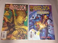 Warlock # 1 & 2 Marvel Tech Comics 1999 VF/NM Douglock New Mutants