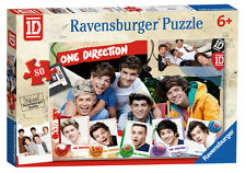 ONE DIRECTION 1D 80 PIECE RAVENSBURGER JIGSAW PUZZLE AGE 5+