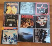 Lot Of 10 Hard Rock Metal Alternative CDs Pantera Rage Slipknot Incubus REM