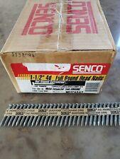 """Senco 1-1/2"""" 4d Full Head nails for Joist Hanger Gun Hot Dipped Galvanized #2000"""