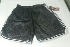 NWT, Jr Women's  Soffee Black and White Mesh Shorts Size XS