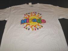 MIRAGE Hotel Casino Las Vegas Nevade Summer '99 Vintage 1999 T-Shirt New! NWT LG