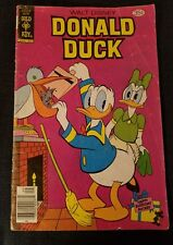 DONALD DUCK #199 HAVING A PANIC September 1978! Disney Gold Key Comic Book