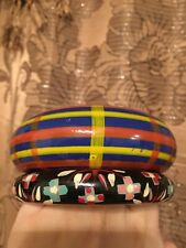 Bangle Multicolor Wooded Bracelets