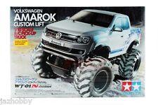 Tamiya 58603 1/10 RC 2WD WT-01 Chassis Volkswagen Amarok Pick Up Truck Kit w/ESC