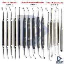 Dental Sinus Lift Instrument Kit Lifting Membrane Elevator Mushroom Bone Placing