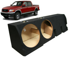"2001-2003 Ford F-150 Super Crew Truck Dual 10"" Subwoofer Sub Box Enclosure New"