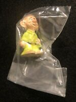 "Vintage Disney Snow White Dopey PVC Figure by Applause 2"" Dwarfs"
