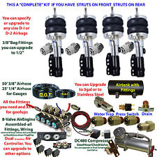 Air Suspension Kit Ford Mustang Strut Front/Struts Rear See Description below