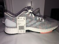adidas Pureboost DPR Men's Running Shoes - White Multicolor US 9.5