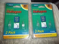 2 Packs 2 Lamps Per Pack 4 Total Bulbs Feit 20W 