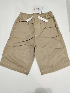 Hanna Andersson Boys Shorts Sz100 US 4 Deck Short Cotton Seam Details NWT