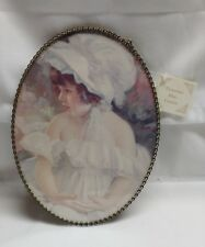 reproduction victorian flue cover girl