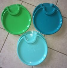 Pampered Chef Party Outdoor Picnic Plastic Plates Set of 6