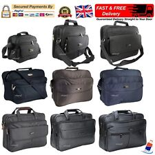 Mens Business Briefcase Laptop Messenger Shoulder Satchel Work Travel Office Bag