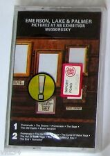 EMERSON LAKE & PALMER - PICTURES AN EXHIBITION - Cassette Tape MC K7 Sealed