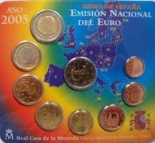 "KMS Spanien 2005 ""Stgl."" + 2€ Don Quijote wie ausge. ""Real Casa de la Moneda"""
