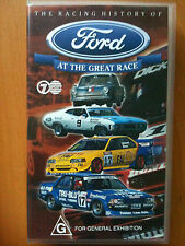THE RACING HISTORY of FORD at THE GREAT RACE ~ 1960 - 1997 ~ 150 MINS RARE VIDEO