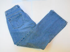 Calvin Klein Blue Jeans Size 6  Womens 30/30 Boy Fit Flare Med Wash