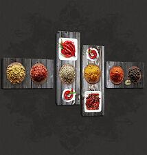 Especias Cocina Diseño Cascade Premium Calidad cartel Lona Impreso Uk libre de envío