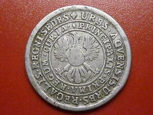 Germany Aachen 32 marks 1760 undated MEGGA RARE (AQX)