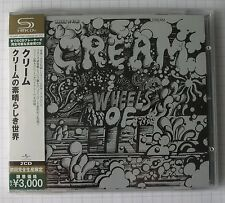 CREAM - Wheels Of Fire JAPAN SHM 2CD OBI NEU RAR! UICY-91392-3 ERIC CLAPTON