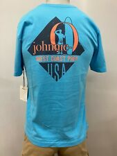 "New johnnie-O ""WCP Diamond"" Boy's Short Sleeve T-Shirt, Blue, Size 12, 14, 16"