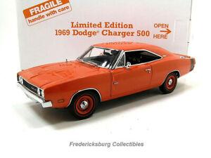 DANBURY MINT 1969 DODGE CHARGER 500 LTD ED- HEMI ORANGE - MINT WITH ORIGINAL BOX
