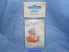 Me To You Bear Best Teacher Fridge Magnet  New Gift G01Q5282 Present Tatty Teddy