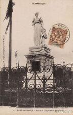 * MARTINIQUE - Fort de France - Statue de l'Impératrice Joséphine 1906