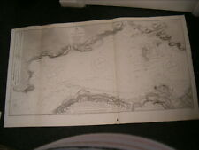 Antique Admiralty Chart 1547 IRELAND - SHANNON - CARRIGAHOLT to SCATERY 1843 edn