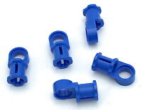 New LEGO Lot of 10 Blue Technic Pins with Axle End Parts 5971 7325