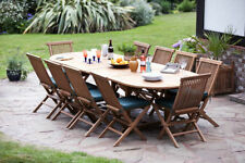 Teak Up to 10 Seats Table & Chair Sets