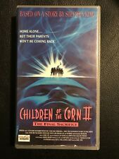Children Of The Corn 2 VHS Tape English with dutch subs Horror