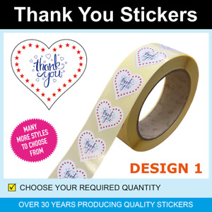 35mm Pink Wax Melt Thank You Stickers / Labels - Only for 120