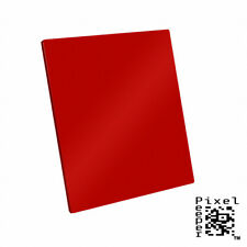 Pixel Peeper 100mm Red Filter. Lee & Cokin Compatible. 4 inch 100mm x 143mm