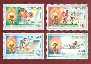 Aitutaki 1992 4 stamps Mi# 6833-86 set MNH CV=11€