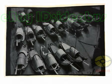 "Matted 8""x6"" old photograph The Sampans Boats in Huangpu River Shanghai 1940s"