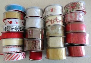 Christmas/wedding/party wire edge ribbon