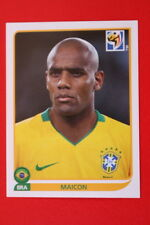 Panini SOUTH AFRICA 2010 492 BRASIL MAICON TOPMINT!!