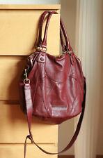 Liebeskind Tasche Bordo Rot Greta Vintage Ruby Red Leder Shopper Schultertasche