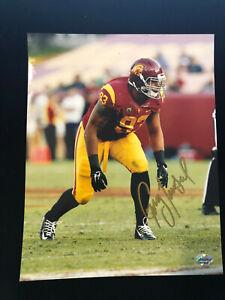 Greg Townsend Jr. Signed Autographed Photo - COA USC Trojans Southern California