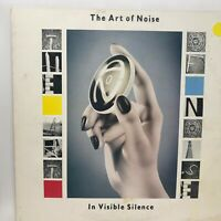 The Art Of Noise LP In Visible Silence Vinyl Record Original 1986